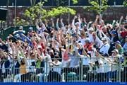 2018年 パナソニックオープンゴルフチャンピオンシップ 3日目 17番ギャラリースタンド