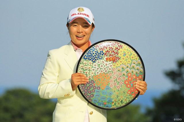 プレーオフを制してツアー初優勝を飾った永峰咲希