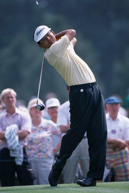 中嶋常幸は1989年のマスターズを終え、米国から撤退した (Bob Thomas/Getty Images)