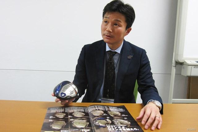 ゼクシオ開発の指揮を執る芦野武史さん