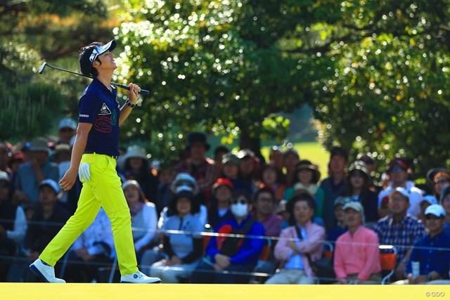 惜しいパットが決まらない…石川遼はわずかに後退して3日目を終えた