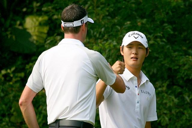 ニュージーランドからは19歳のD.リーが出場。パートナーは日本でプレーするD.スメイル