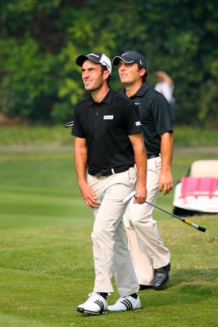 イタリアはモリナリ兄弟が出場。左が兄のエドアルド、右が弟のフランチェスコ。まったく似ていない