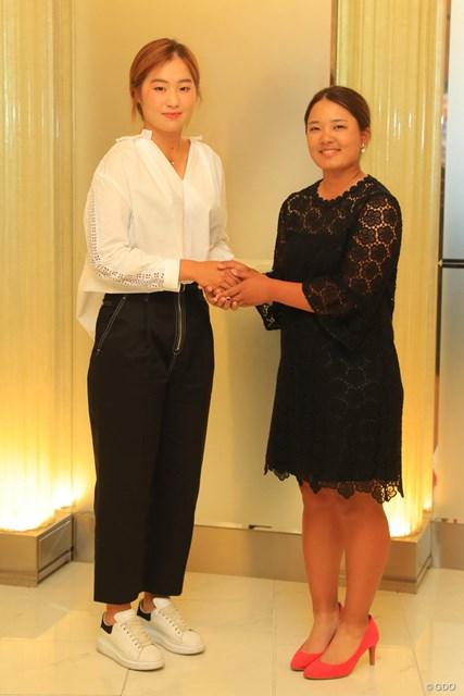 イ・ジョンウン6(左)と鈴木愛