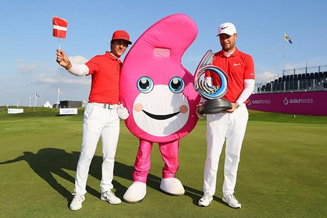 第1回大会はデンマーク(トービヨン・オルセン、ルーカス・ビェルレガード)が制した(Andrew Redington/Getty Images)