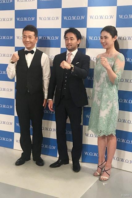 上田晋也さん、山中慎介さんとともに番組収録に臨んだ古閑美保