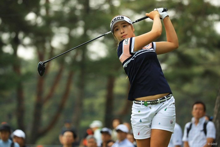 韓国ツアーの賞金女王が実力を発揮。イ・ジョンウン6は4位タイにつけた 2018年 ワールドレディス選手権 サロンパスカップ 初日 イ・ジョンウン6