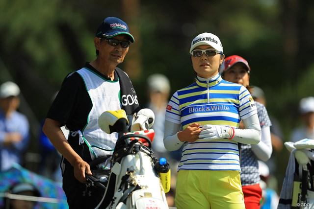 父とコンビを組んだ藤田さいき。左手の痛みを抱えながら上位につけた