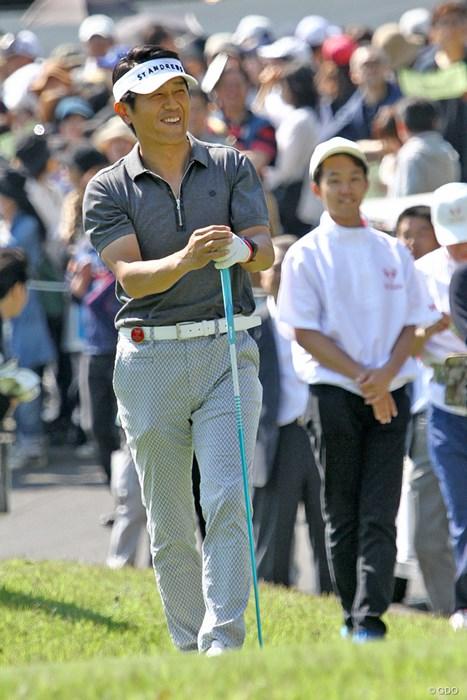 初出場の高橋克典さん。多くのファンが後に続いた ザ・レジェンド・チャリティプロアマトーナメント 初日 高橋克典さん