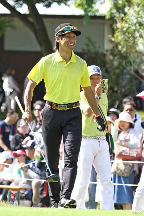 葛西紀明さんは3年連続の出場。スキージャンプ界のレジェンドはゴルフへの情熱もすごい ザ・レジェンド・チャリティプロアマトーナメント 初日 葛西紀明さん