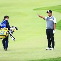 もったいない最終ホールはクリーク 2018年 日本プロゴルフ選手権大会 初日 中島徹