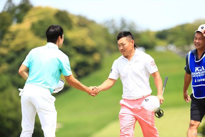 18番もパーで3アンダー 2018年 日本プロゴルフ選手権大会 2日目 藤本佳則