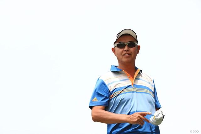 2018年 日本プロゴルフ選手権大会 3日目 谷口徹 50歳の谷口徹は大会最年長優勝を目指す