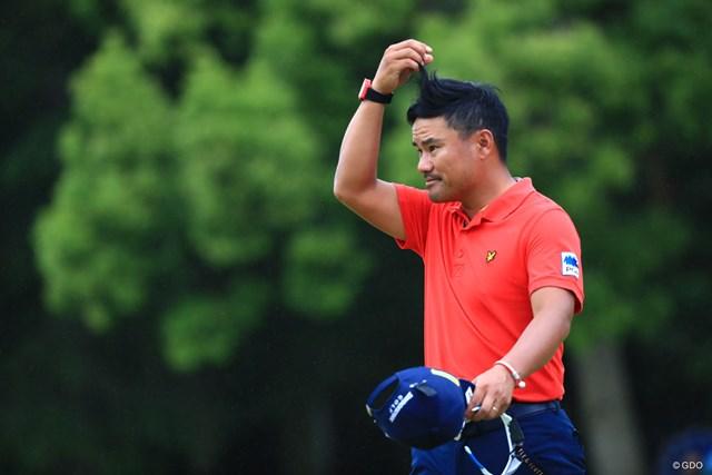 2018年 日本プロゴルフ選手権大会 最終日 宮里優作 全米オープンの予選会を回避するとした宮里優作。世界ランクでの出場権を目指す