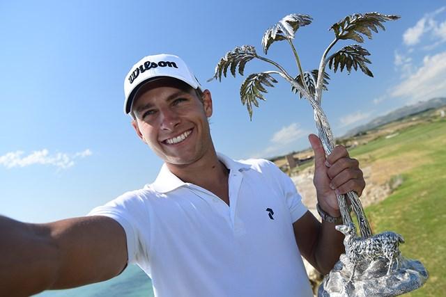 26歳のラガーグレンがツアー初優勝を遂げた(Stuart Franklin/Getty Images)