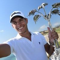 26歳のラガーグレンがツアー初優勝を遂げた(Stuart Franklin/Getty Images) 2018年 ロッコフォルテシチリアンオープン 最終日 ヨアキム・ラガーグレン