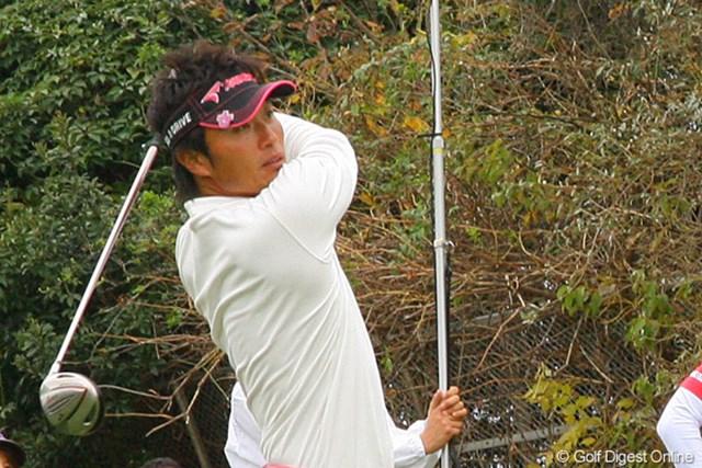 4位タイに入り、次週「日本シリーズ」の出場資格を掴んだ宮本勝昌