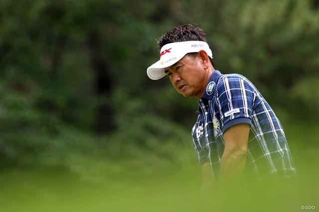 藤田寛之 48歳の藤田寛之も谷口徹のメジャー制覇に感銘を受けたひとり