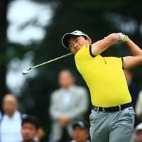 彼の真剣な眼差しにはいつも光るものがある 2018年 関西オープンゴルフ選手権競技 2日目 竹安俊也