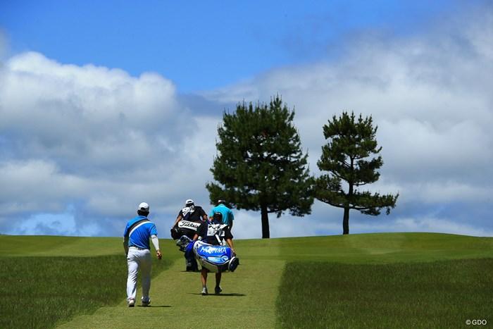 今日は清々しい一日 2018年 関西オープンゴルフ選手権競技 3日目 梁津萬(リャンウェンチョン)