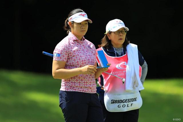 川岸史果(左)は全米女子オープンで結果を残せるか