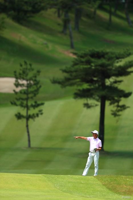 僕のボールはあっちかな 2018年 関西オープンゴルフ選手権競技 最終日 山下和宏