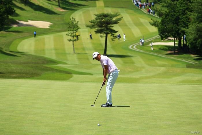 はい! バーディー! 2018年 関西オープンゴルフ選手権競技 最終日 山下和宏
