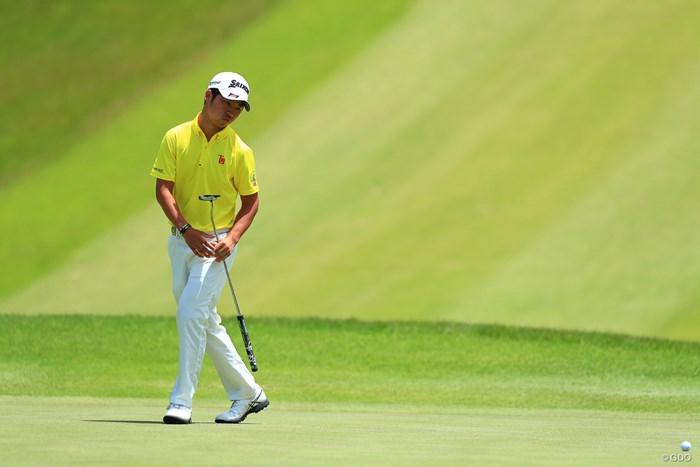 7番あたりから先輩たちの追い上げが 2018年 関西オープンゴルフ選手権競技 最終日 @久保田皓也