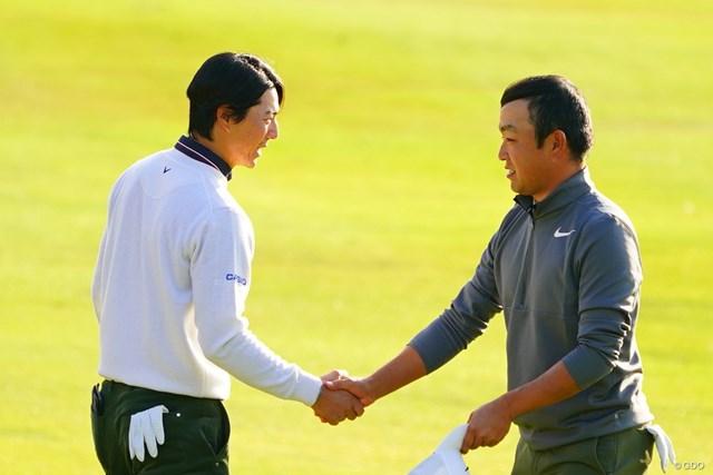 石川遼 時松隆光 前週優勝の時松隆光と石川遼は予選同組になった(※撮影は昨年 「カシオワールドオープンゴルフトーナメント」2日目 )