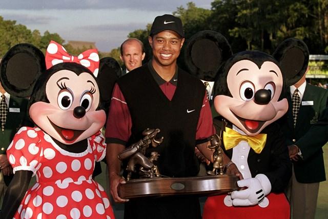 タイガー・ウッズ タイガー・ウッズはフロリダのディズニーリゾートで行われた大会を過去に2度制した(AndyLyons Allsport/Getty Images)