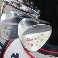イーブンゴルフのウェッジを使用する武尾咲希。中学からの付き合いだ 2018年 リゾートトラスト レディス 初日 武尾咲希のウェッジ