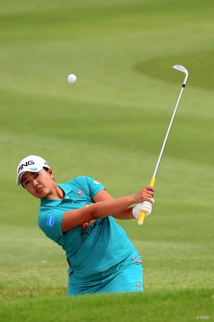 左ひざに故障をかかえながら3位タイで終えた鈴木愛。次週は「全米女子オープン」に出場する