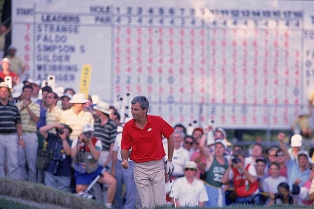1988年 全米オープン 最終日 カーティス・ストレンジ カーティス・ストレンジは1988年から全米オープンを連覇したが…(John Biever/Sports Illustrated/Getty Images)