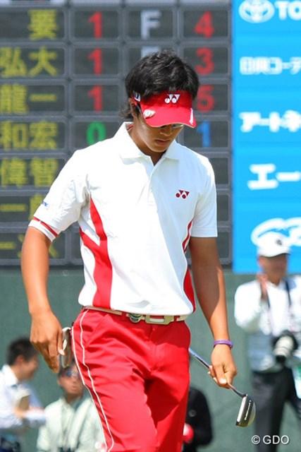 2010年 中日クラウンズ 最終日 石川遼 17番は2パットのパー