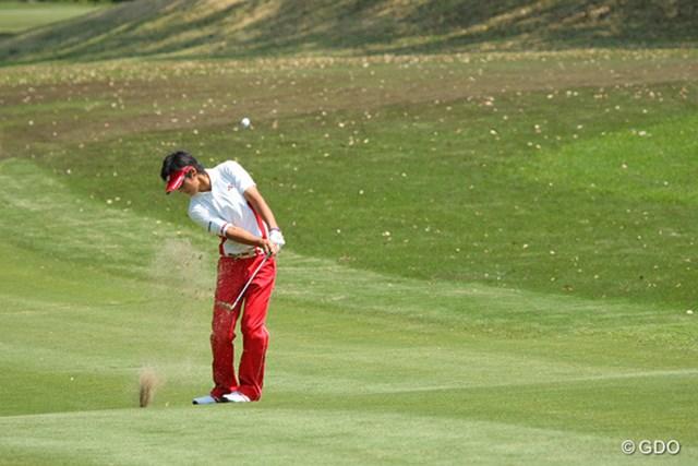 2010年 中日クラウンズ 最終日 石川遼 またもSWで1mにぴたりとつける