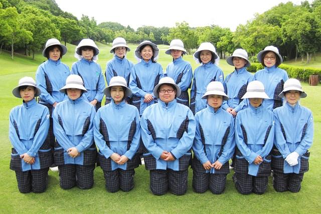 武蔵OGMゴルフクラブ(埼玉県) キャディの皆さん