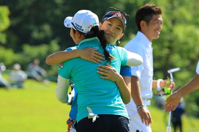 2018年 ヨネックスレディスゴルフトーナメント 初日 上田桃子 上田桃子が首位発進を決めた