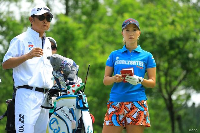 2018年 ヨネックスレディスゴルフトーナメント 初日 上田桃子 好調が続いてますね。今季初優勝を目指します。
