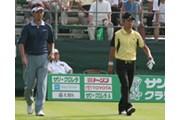 2006年 プレーヤーズラウンジ 星野英正(左) 近藤智弘