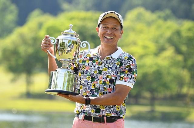 山添昌良がシーズン2勝目をマークした(日本プロゴルフ協会提供画像)
