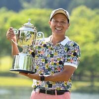 山添昌良がシーズン2勝目をマークした(日本プロゴルフ協会提供画像) 2018年 すまいーだカップ シニアゴルフトーナメント  最終日 山添昌良