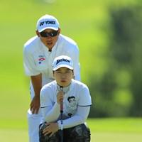 首位とは1打差で最終日へ 2018年 ヨネックスレディスゴルフトーナメント 2日目 石川明日香
