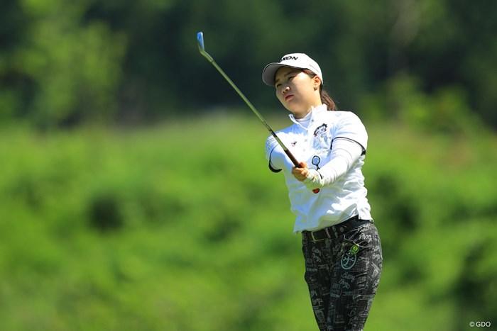 私、こう見えて、現役女子大生なんです。 2018年 ヨネックスレディスゴルフトーナメント 2日目 石川明日香