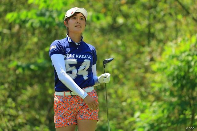最終日ベストの「65」で急浮上!初のトップ10入りを決めた19歳の大里桃子