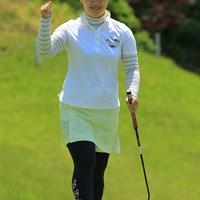 9番、ナイスバーディ!! 2018年 ヨネックスレディスゴルフトーナメント 最終日 石川明日香
