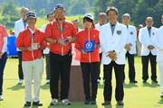 2018年 ヨネックスレディスゴルフトーナメント 最終日 ボランティア表彰
