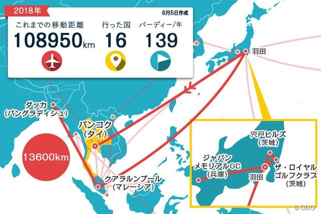 今週は羽田からバンコクへ。直行便はラクチン