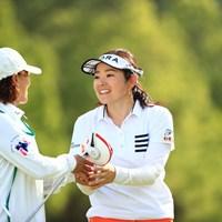澄香ちゃんいい顔しとるね 2018年 サントリーレディスオープンゴルフトーナメント 初日 仲宗根澄香