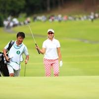 3オーバーか~、あと3日頑張れ 2018年 サントリーレディスオープンゴルフトーナメント 初日 森田理香子