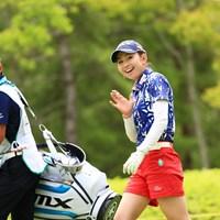 二人とも僕に気が付いてくれた 2018年 サントリーレディスオープンゴルフトーナメント 初日 江澤亜弥